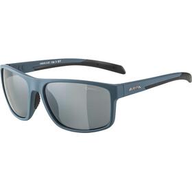 Alpina Nacan I Brille dirt blue matt/black mirror